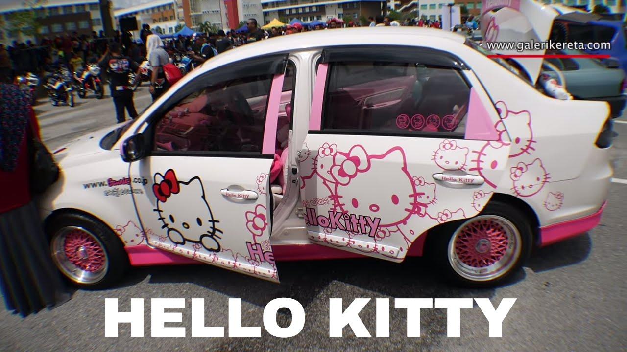 e9a64407e Proton Saga FLX - The Hello Kitty | Mega Gathering 2K16 UPSI Tanjung ...