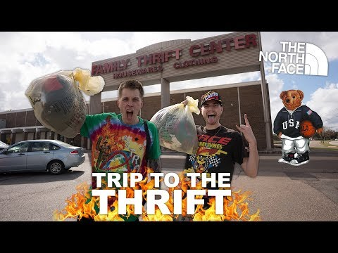 TRIP TO THE THRIFT #59 feat. Polo Bear, The North Face, Guess & Paul Cantu