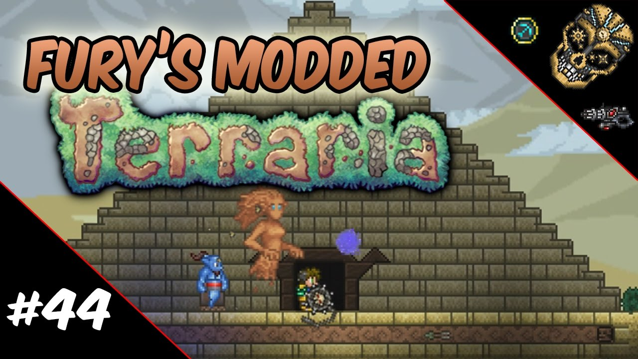 Fury's Modded Terraria | Episode 44: Tinkering, Waifu and Raynare