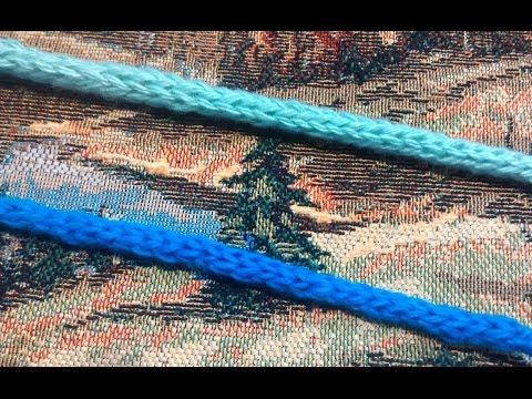 Как связать крючком завязки для шапочки