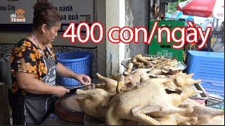 Boiled Goose THE GIOI NGAN HANOI VIETNAM STREET FOOD