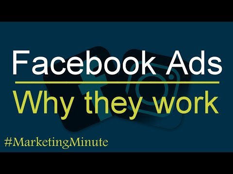 "Marketing Minute 112 ""Why Facebook Advertising Works"" (Digital Marketing Communications)"