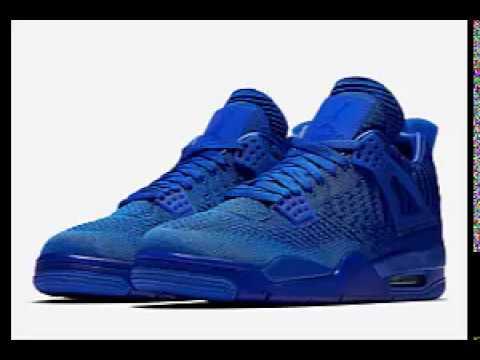 Air jordan 4 polo pack blue