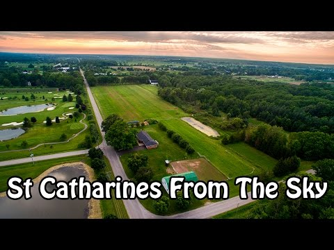 St Catharines From The Sky | 4k