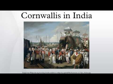 Cornwallis in India