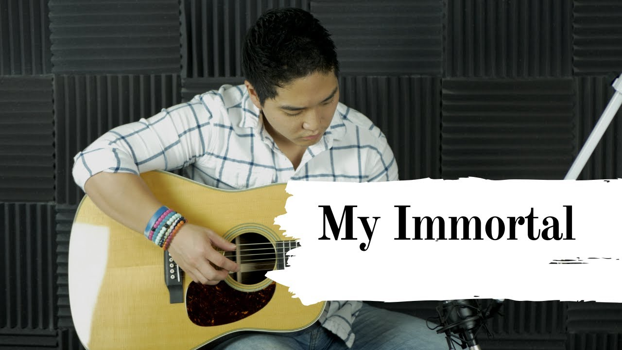 My Immortal - Evanescence (StrummingPanda cover)