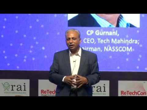 Special Address by CP Gurnani, MD & CEO, Tech Mahindra; Chairman, NASSCOM