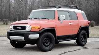 2013 Toyota FJ Cruiser - WR TV POV Test Drive