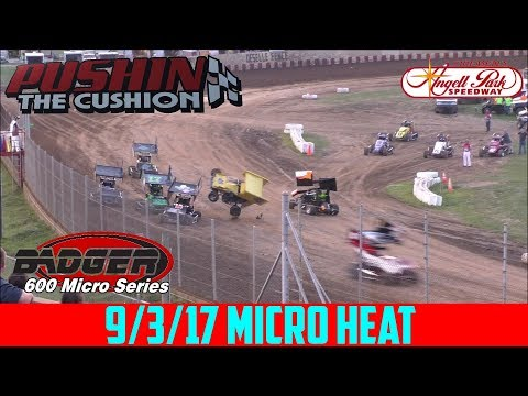 Angell Park Speedway - 9/3/17 - Micros - Heat