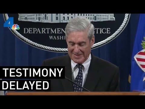 Robert Mueller's Testimony Delayed | NewsConference | NBCLA