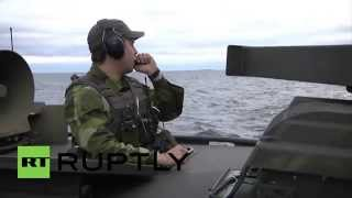 Sweden: Cold War-esque submarine search continues