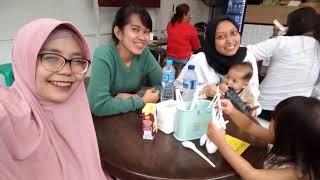 #MPVlog Vlog day 3 Mandala Queena jalan2 sama tante Neno an tante Uphe di Bandung nyobain Eatlah