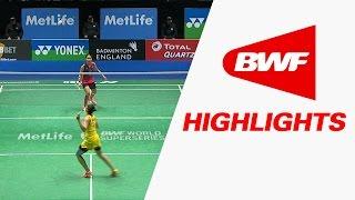 yonex all england open 2016   badminton qf highlights