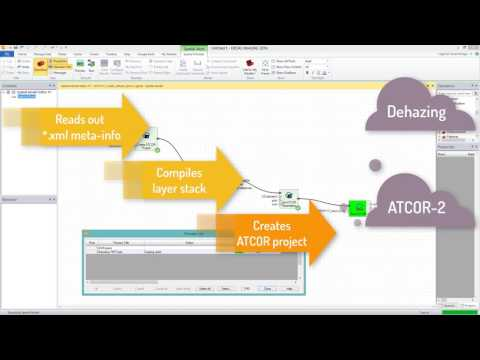 ATCOR Workflow for IMAGINE - Spatial Modeler