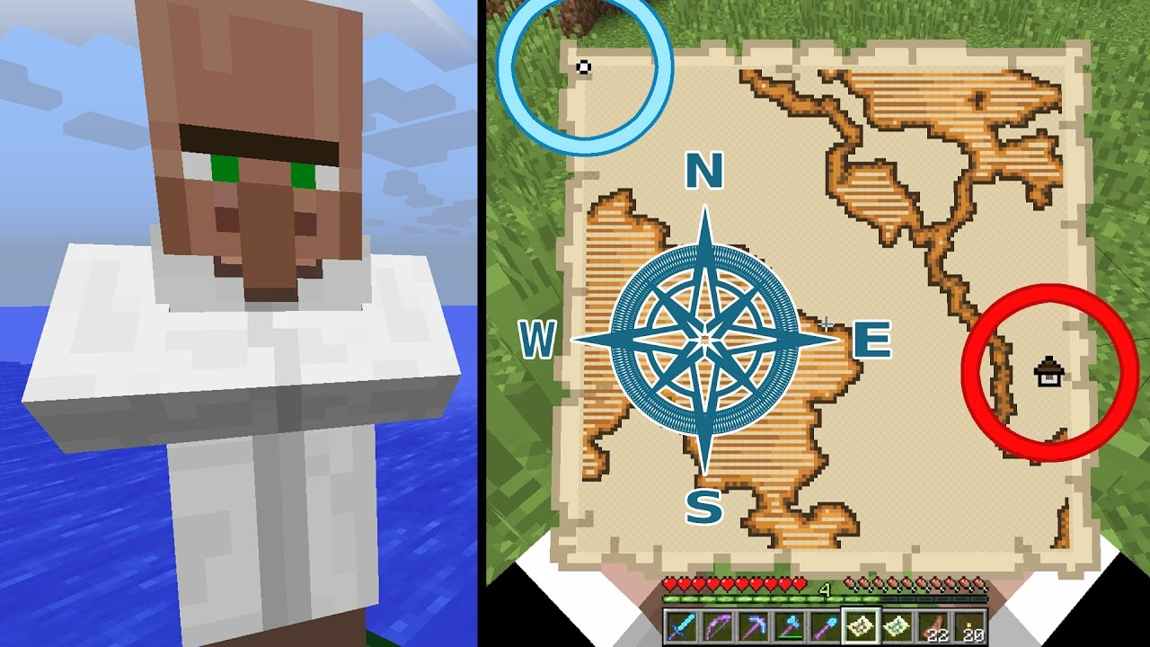 Minecraft Exploration Maps How to Find How to Use Woodland