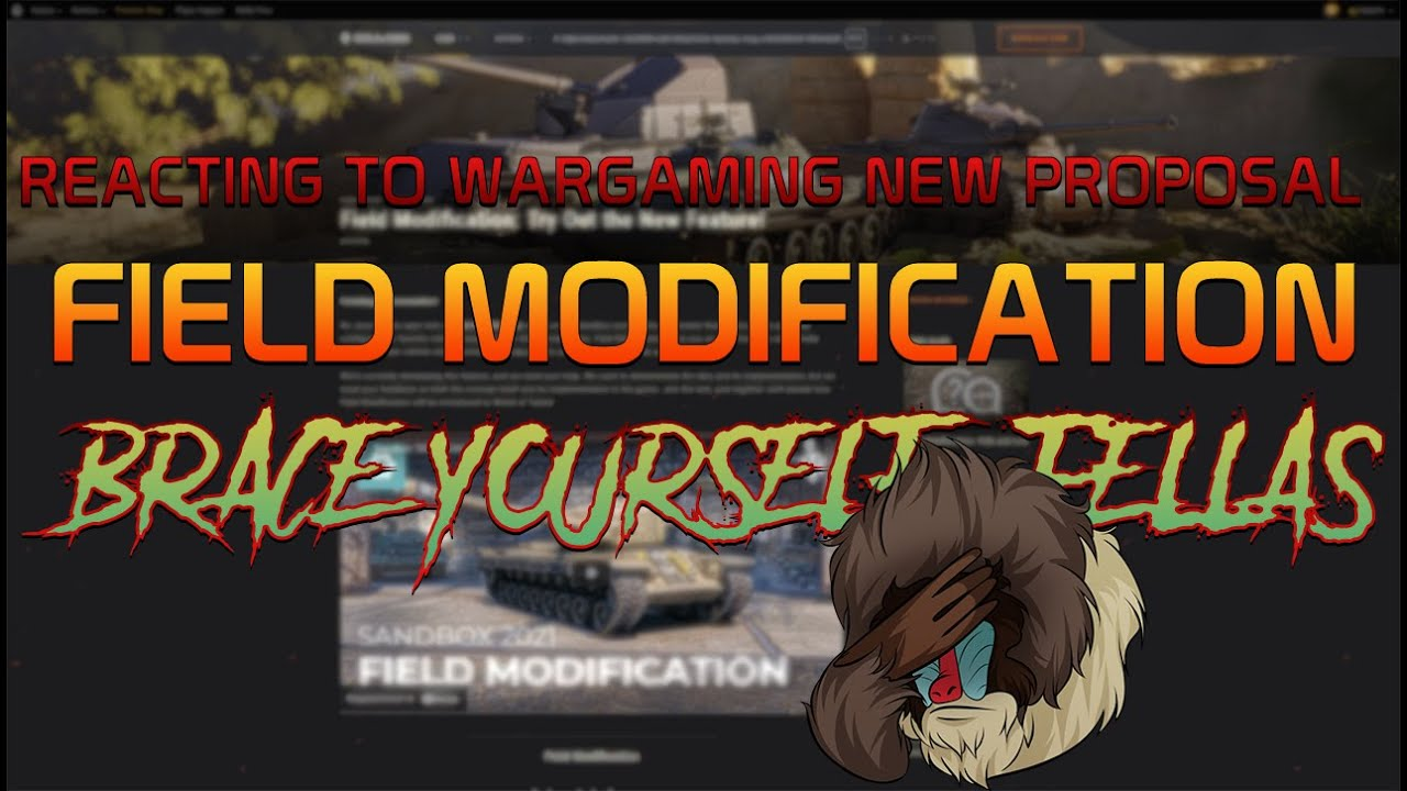 Reacting to the New Field Modification sandbox update! | World of Tanks
