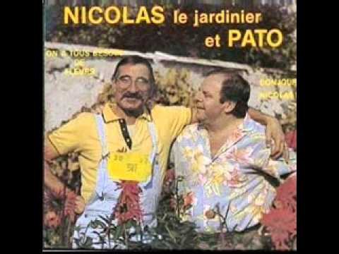 nicolas le jardinier et pato bonjour nicolas 1985 youtube. Black Bedroom Furniture Sets. Home Design Ideas