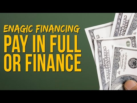Enagic Financing - Should You Finance Or Pay In Full?
