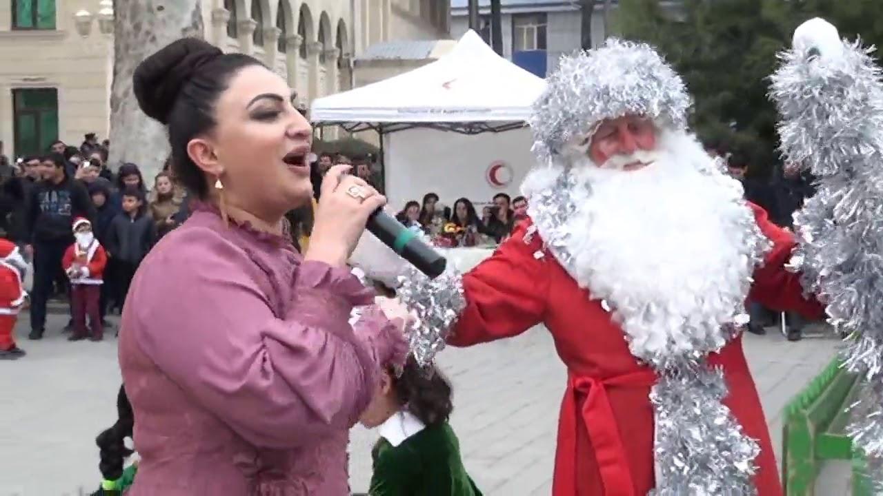 Sevinc Abbasova Orxan berdeli Elman gitara seferli vasifin oqlunun kicik toyu