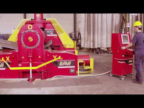 PLATE ROLL - HEAVY DUTY 3 ROLL VARIABLE AXIS for Pressure Vessels Production