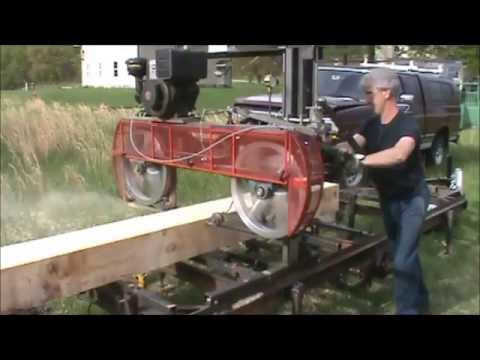 Homemade Sawmill Youtube