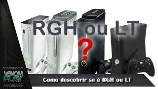 Como Descobrir se Xbox 360 é RGH ou LT