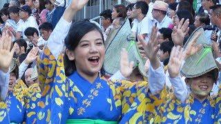 2017徳島夏の阿おどり 幸福の科学連の流し踊り 日時:2017.8.12 場所:...