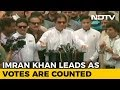 Imran Khan's PTI Ahead As Votes Are Counted In Pakistan Polls