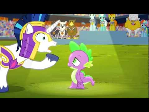 Spike Cloudsdale Hymn - My Little Pony French