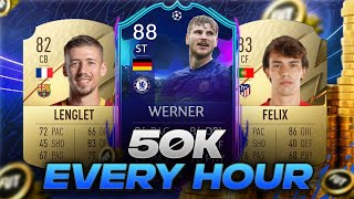 HOW TO MAKE 50K COÏNS AN HOUR! EASIEST WAY TO MAKE COINS ON FIFA 22 (BEST TRADING METHOD ON FIFA 22)