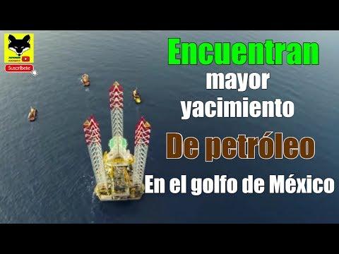Descubren  yacimiento Gigantesco de petróleo en el Golfo de México
