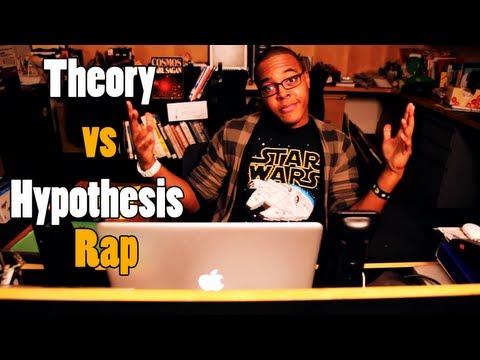 Theory vs Hypothesis (Science Rap) - SciTunes #7