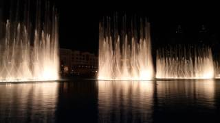 Dubai Fountain Show - Burj Khalifa - Indian Music