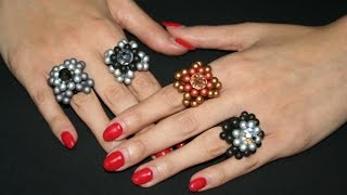 Anello Bulb Beads - www.PerlineBijoux.com
