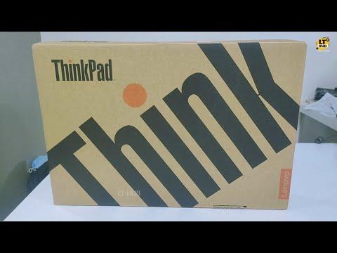 Lenovo Laptop Unboxing   Lenovo ThinkPad E14 Laptop Unboxing   Intel Core i3 10th Gen   LT HUB
