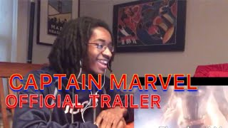 CAPTAIN MARVEL Official Trailer - YAHTZEE Reaction