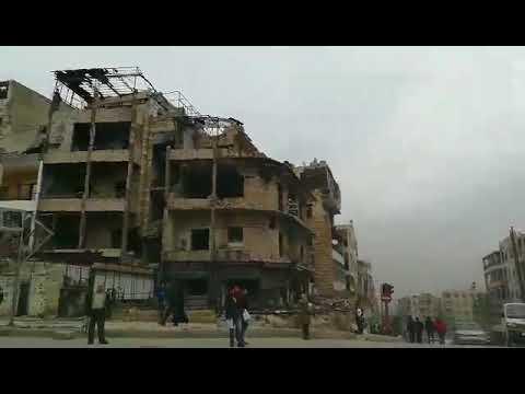 Aleppo - miasto ruin  - grudzień 2017 r