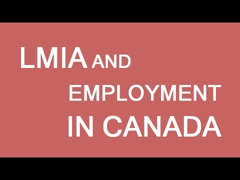 LMIA and Employment in Canada. LP Group