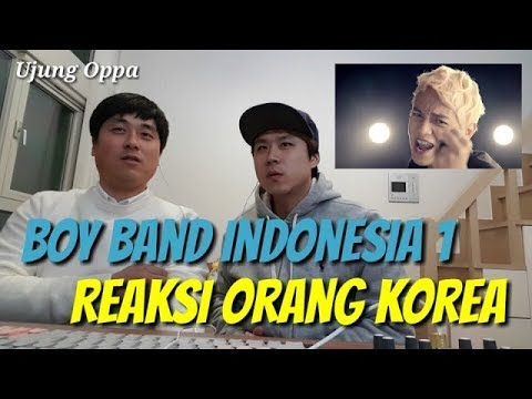Reaksi Orang Korea Mendengar Lagu Indonesia || Boy Band 1 (S4) She is my girl