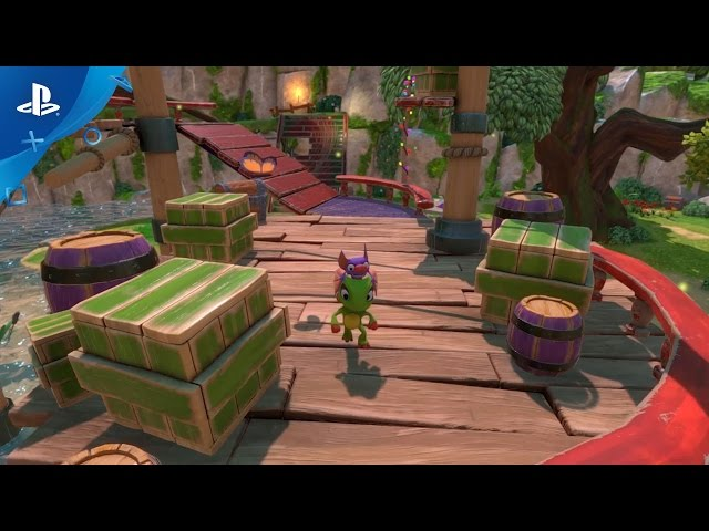 Yooka-Laylee - Launch Trailer | PS4