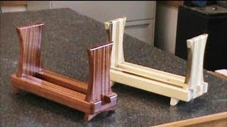 Sliding Dovetail Magazine Rack