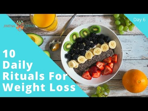 10 Daily habits for permanent weight loss- Day 6