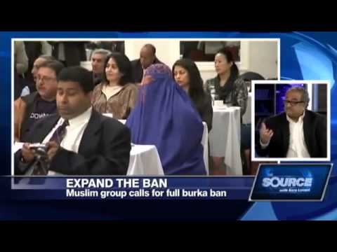 In Canada Progressive Muslim Canadian Congress wants to expand the burqa and face veil ban