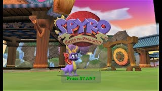 The Legend of Spyro Enter The Dragonfly GC Gameplay Sle HD Dolphin Emulator