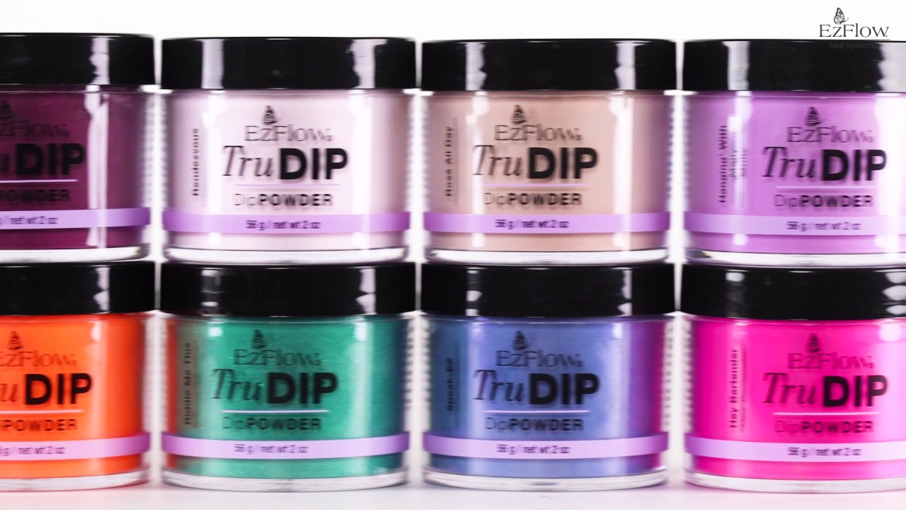 EzFlow Introduces the TruDIP 3-STEP Acrylic Dip System - YouTube