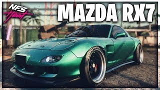 THIS CAR HONESTLY SUPRISED ME! | MAZDA RX7 RACE BUILD!! | Need for Speed Heat