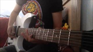 Naruto shippuden Opening 15- Guren(Guitar cover)