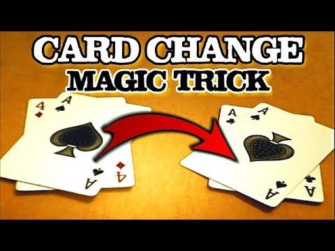 Finest Card Change Magic Trick! Tash Ka Jadu