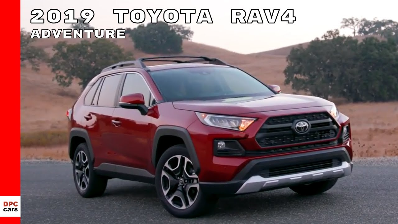 2019 Toyota Rav4 Adventure Ruby Flare Pearl Youtube