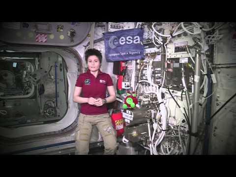 Astronautin Samantha Christoforetti über deutsche Experimente an Bord der ISS
